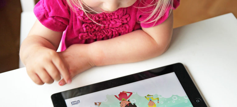 Tablet App Teaches Kids How to Wash Hands