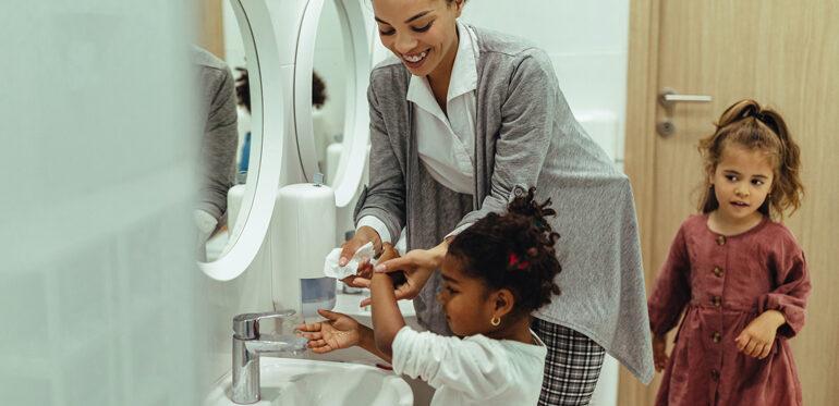 Three critical reasons to teach handwashing early